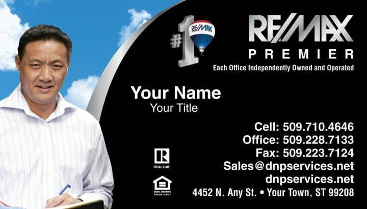 REMAX Business Cards SilhouetteCards